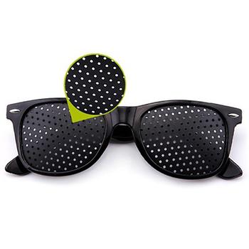Czarny wzrok poprawa opieki ćwiczenia okulary okulary szkolenia tanie i dobre opinie 48mm WYY098 Black 54mm Unisex
