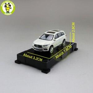 Image 2 - 1/64 qx60 2017 diecast modelo carro suv, brinquedos, meninos, meninas, presentes