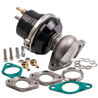 Universal External 38MM Turbo V BAND Wastegate Bypass Exhaust & Spring