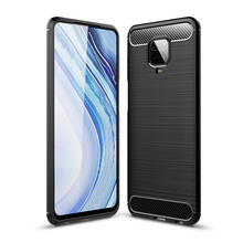 Soft Carbon Fiber Case For Xiaomi Redmi Note 9S 8T 9 Pro Max Cover Housings Protective Phone Bumper For Xiaomi Redmi Note 9S 8 7 недорого