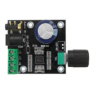 Image 5 - PAM8610 çift kanallı DC 12V HD saf dijital ses Stereo amplifikatör kurulu sınıf D 15W x 2 yüksek güç amplifikatörü modülü