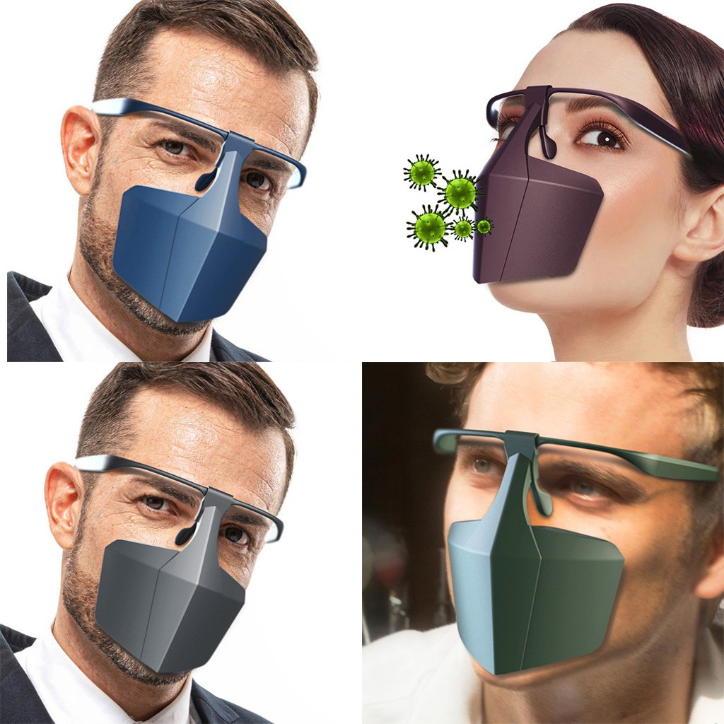 Face Mask Prevent-splash Spray Anti-saliva Protective Equipment Mask Reusable Prevent Pollution Windproof Facemask Purifying