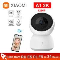 Xiaomi-Cámara mi Smart Home 2K, 1296P, 1080P, HD, 360 ángulos, vídeo de seguridad para el hogar, cámara IP PTZ, Wifi, Audio bidireccional, Monitor de bebé