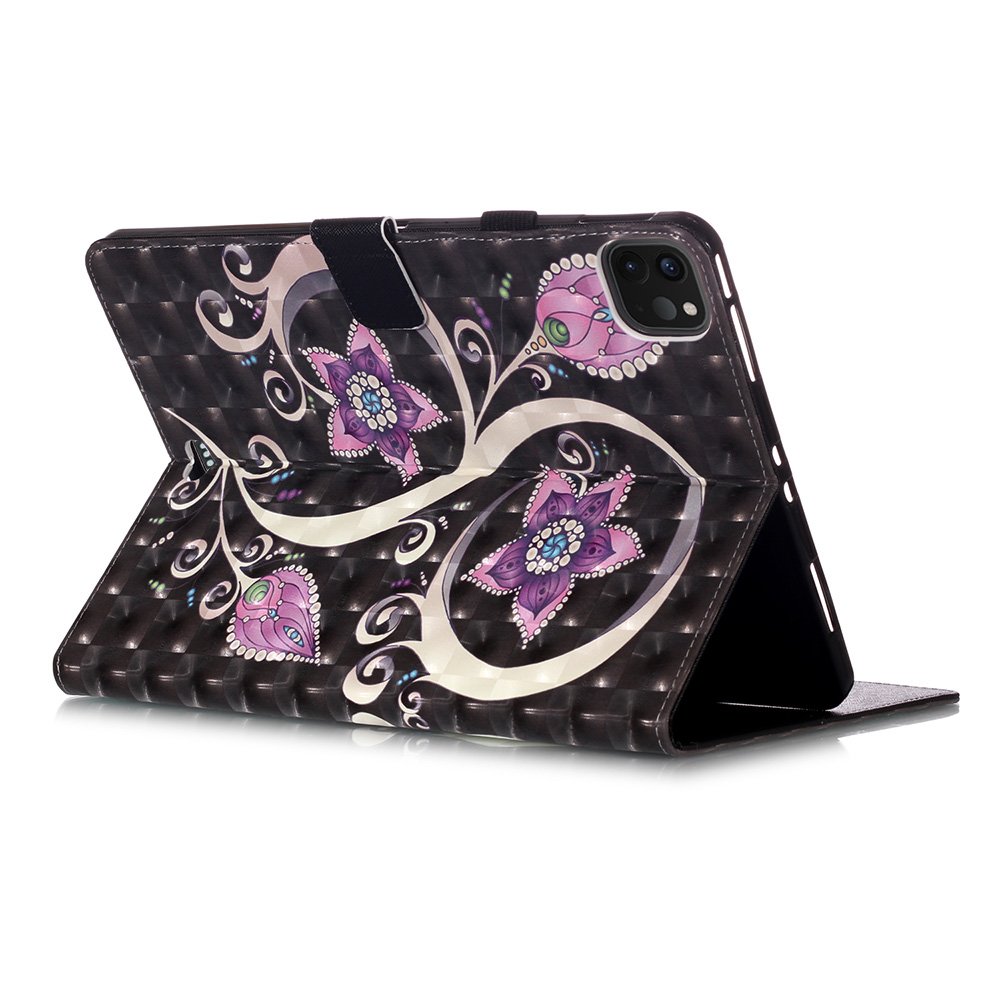 Leather Cover Case Painted Stand for for 11 2018 Fashion IPad 2020 Case Case Pro PU IPad