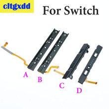 Cltgxdd Handvat Slideway Voor Nintend Schakelaar NS Links Slide rail Met Flex Kabel Fix Deel Voor Schakelaar NS Rebuild Track