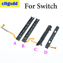 Cltgxdd L R LR สไลด์ซ้ายขวาเลื่อนรถไฟสำหรับ Nintend SWITCH Console สไลด์สำหรับ NS Joy CON CONTROLLER TRACK