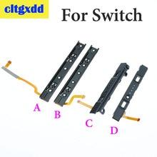 Cltgxdd L R LR Slide sol sağ kaydırıcılar demiryolu nintendo anahtarı konsolu için slayt ray NS Joy con denetleyici parça