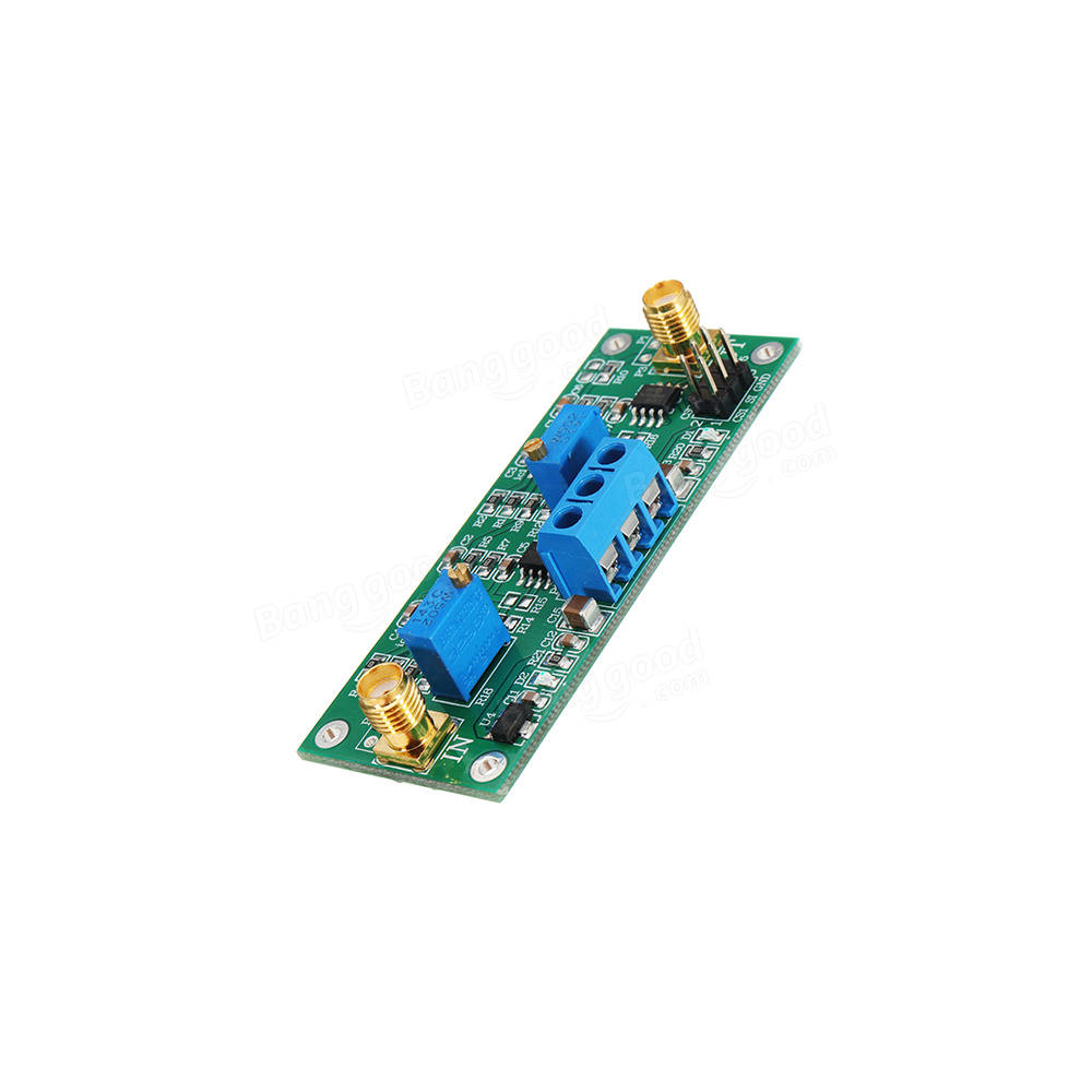 Taidacent Precision Programmable Phase Shifting Amplifier 0-360Degree Adjustable MCP41010 Circuit Variable Phase Shifter Circuit