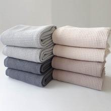 1 шт. 45*65 см многофункциональное полотенце для рук, принадлежности для ванной комнаты, вафельный узор, уход за лицом, квадратный узор, чайное ...