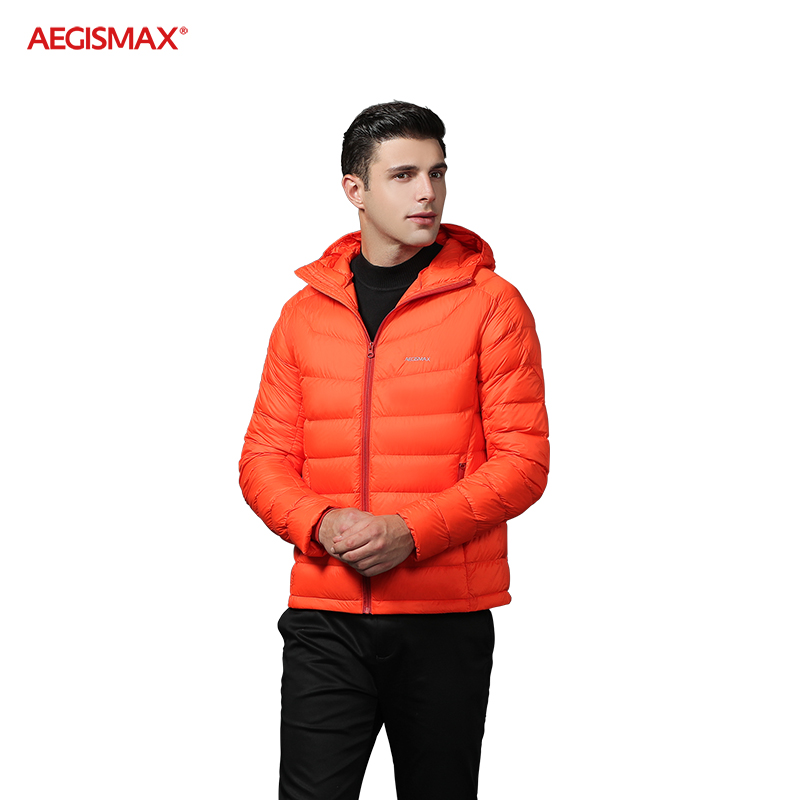 AEGISMAX Men Ultra-Light 95% White Goose Down 800FP Down Outdoor Camping Keep Warm Down Jacket-1