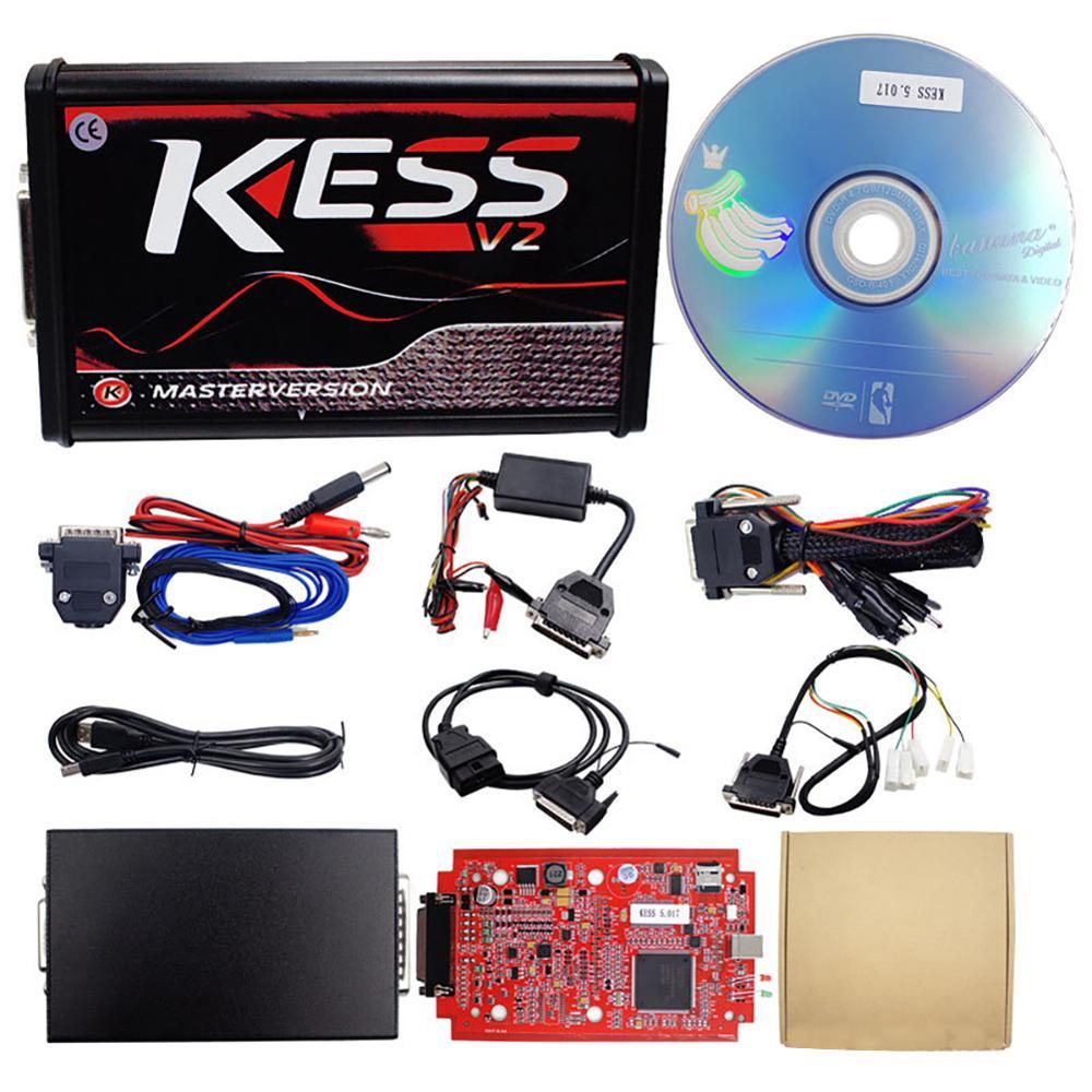 KESS v2 V5.017 OBD2 + Ktag V7.020, PCB rojo sin Token, herramienta de programación de ECU limitada Kess 2020 con nuevo k-suite 5.017, superventas de 2,47 Obd2 escáner Mini elm327 Bluetooth V2.1 / V1.5 OBD2 herramienta de diagnóstico de coche ELM 327 Bluetooth para Android/Symbian para el protocolo OBDII