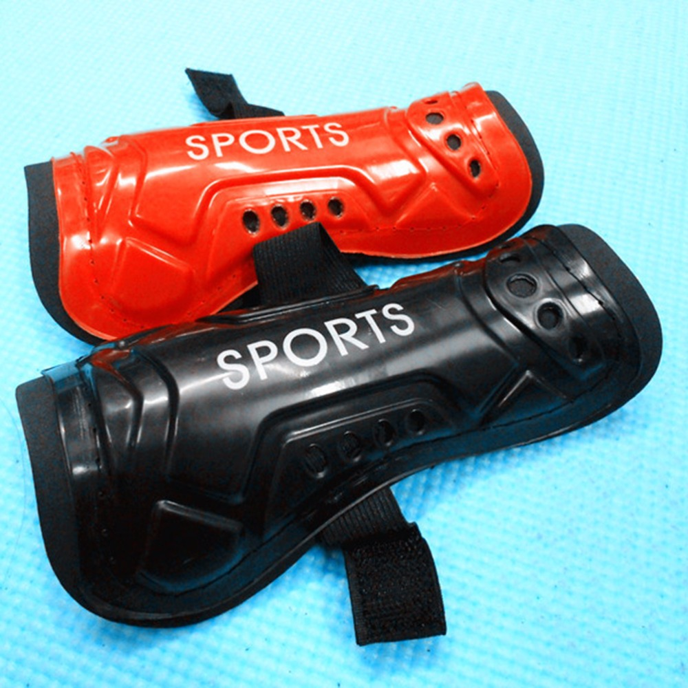 1 Pair For Kids Adult Protective Gear Breathable Shin Guard 5 Colors Football Shin Pads Plastic Soccer Guards Leg Protector|Shin Guard| |  - title=