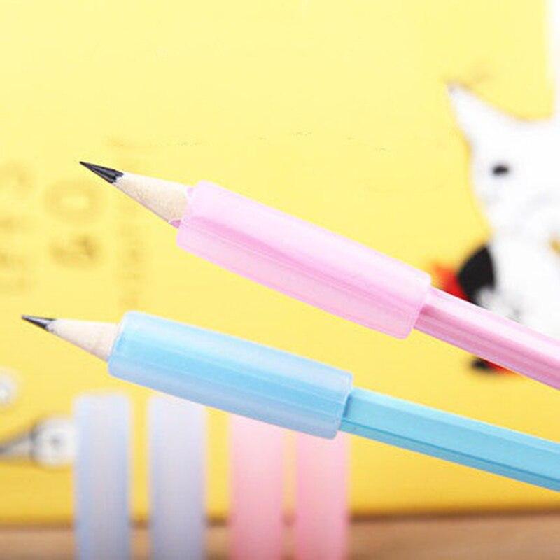 Deli 60pcs Silica Gel Soft Pencil Grip