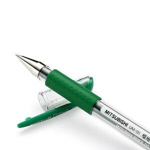 Image 3 - Lote de 12 unidades de bolígrafos de tinta de Gel Mitsubishi Uni Um 151, bolígrafos de 0,38mm, 20 colores, suministros de escritura al por mayor
