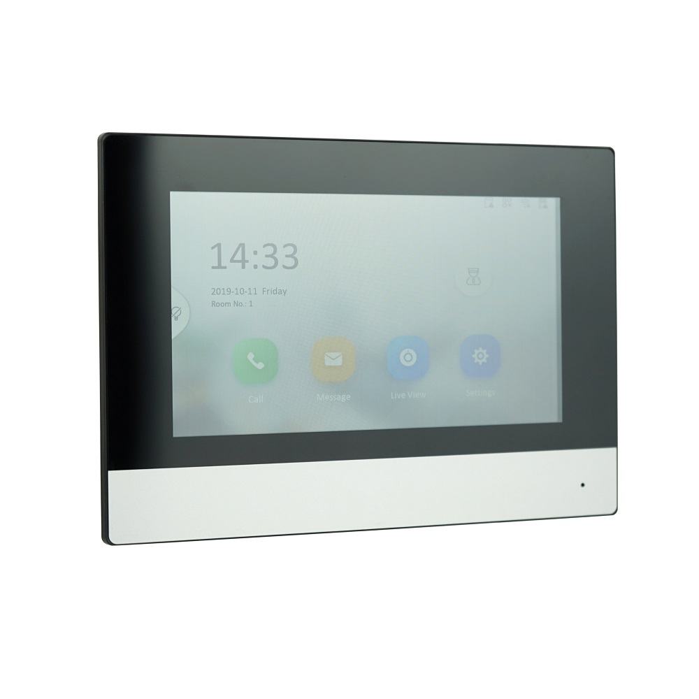 HIK Original international version Multi-Language DS-KH6320-WTE1 Indoor Monitor,802.3af POE,app Hik-connect,WiFi,Video intercom