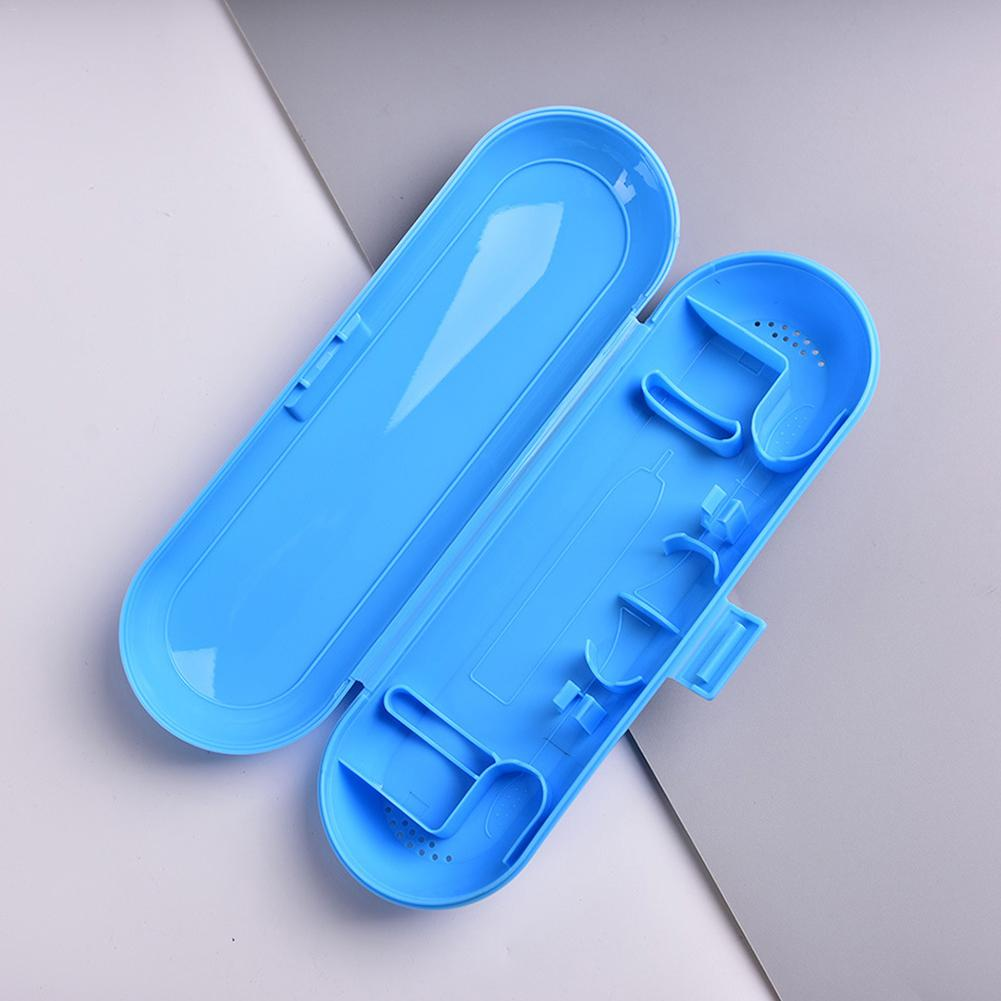 Useful 1PC Portable Toothbrush Holder Bathroom Accessories Electric Toothbrush Case Holder Travel Storage Box image