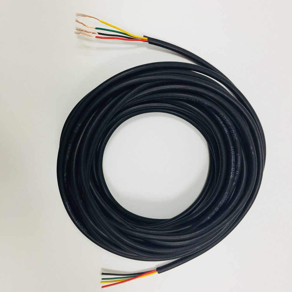 4-wire Video Door Phone System Extension Wire AVVR 4 0.3*MM2 Pure Copper Multi Core Power Cable PVC 5M Flexible Round Wires