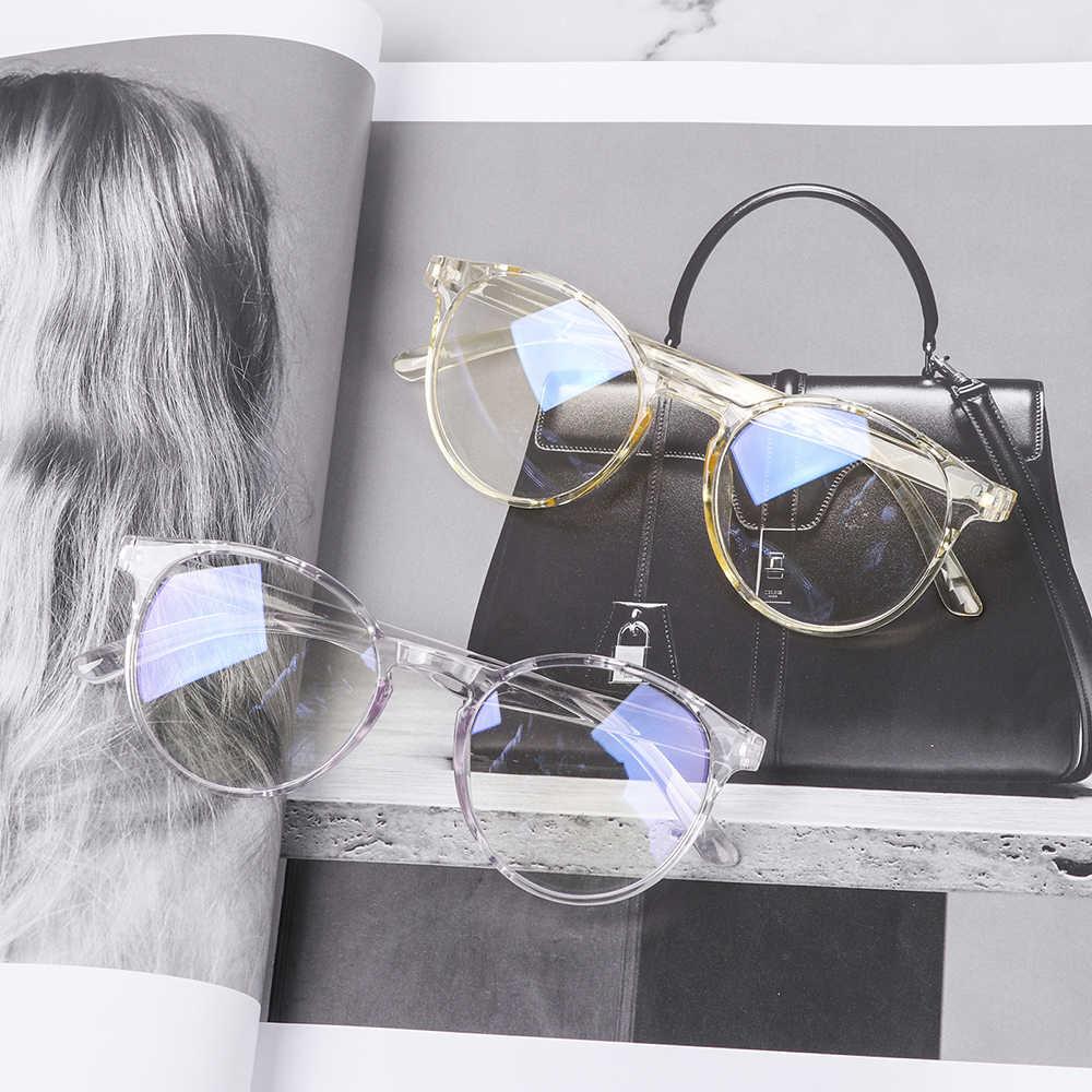 Di modo Anti Blu Raggi Alle Radiazioni Blocco Occhiali Uomo Donna Occhiali Per Computer Anti-Uv Specchio Piano Occhiali Bicchieri di Luce Blu