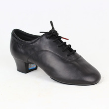 Dancesport Shoes BD 417 Dance Shoe Men Latin  Ballroom Soft Leather Split Outsole Dance Shoes Samba Chacha Rumba Jive Paso doble