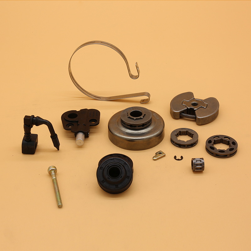PARTNER Pump Chainsaw Gas Bearing Oil 351 Seal Parts Drum Oil Clutch For 8inch Fit 3 Rim Sprocket 350 Replacement