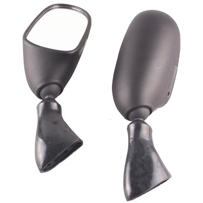 Motorcycle Rear View Side Mirrors For <font><b>Suzuki</b></font> Katana <font><b>GSX600F</b></font> GSX750F 1998-2002 <font><b>1999</b></font> 2000 2001 Black image