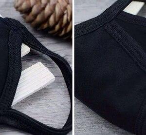 Image 5 - 12 sztuk/partia Unisex modalne bawełniane tkaniny 2 warstwy twarz usta maski ochrona przed kurzem swobodnie oddychać wielokrotnego użytku, z możliwością prania, dla dorosłych rozmiar