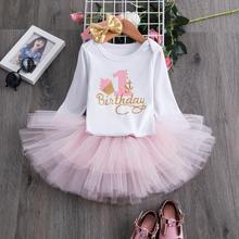 1st Birthday Dress Party Dresses For Girl Toddler