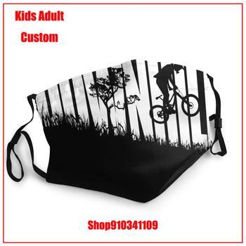 Hot sale DIY masque de protection lavable washable reusable face mask Downhill Freeride Mountain Bike MTB Kids adult men women