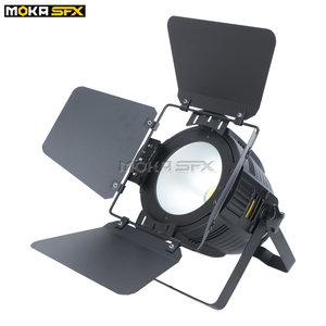 Image 5 - 2 יח\חבילה גבוהה באיכות 200W חם לבן/מגניב לבן Par יכול led par אור dmx cob par אור led משטח אור עבור שלב רקע