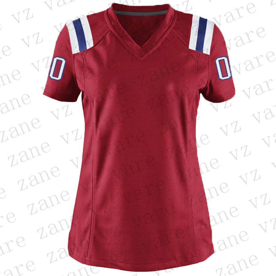Customize Womens Sports Football Jerseys Tom Brady Julian Edelman Rob Gronkowski Anthonio Brown Sony Michel Cheap Boston Jersey