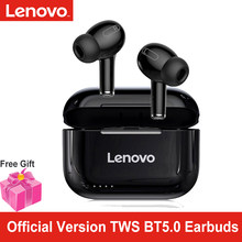 Lenovo LP1S TWS Bluetooth Earphone Sports Wireless Headset Stereo Earbuds HiFi Music With Mic LP1S For Android IOS Smartphone