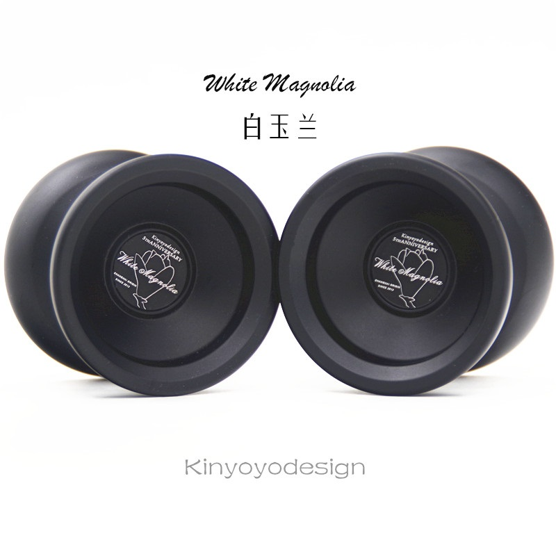 NEW  Kinyoyodesign   White Magnolia YOYO 5th Anniversary Limited Edition Yo-yo