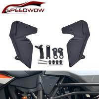SPEEDWOW Motorrad Heizkörper Seite Schutz Verkleidung Abdeckung Protector Panel Für KTM 1050 1090 1190 1290 Super Abenteuer R/S /T ADV