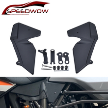 SPEEDWOW Panel Protector de cubierta de carenado para radiador de motocicleta, para KTM 1050, 1090, 1190, 1290, Super Adventure, R/S/T, ADV