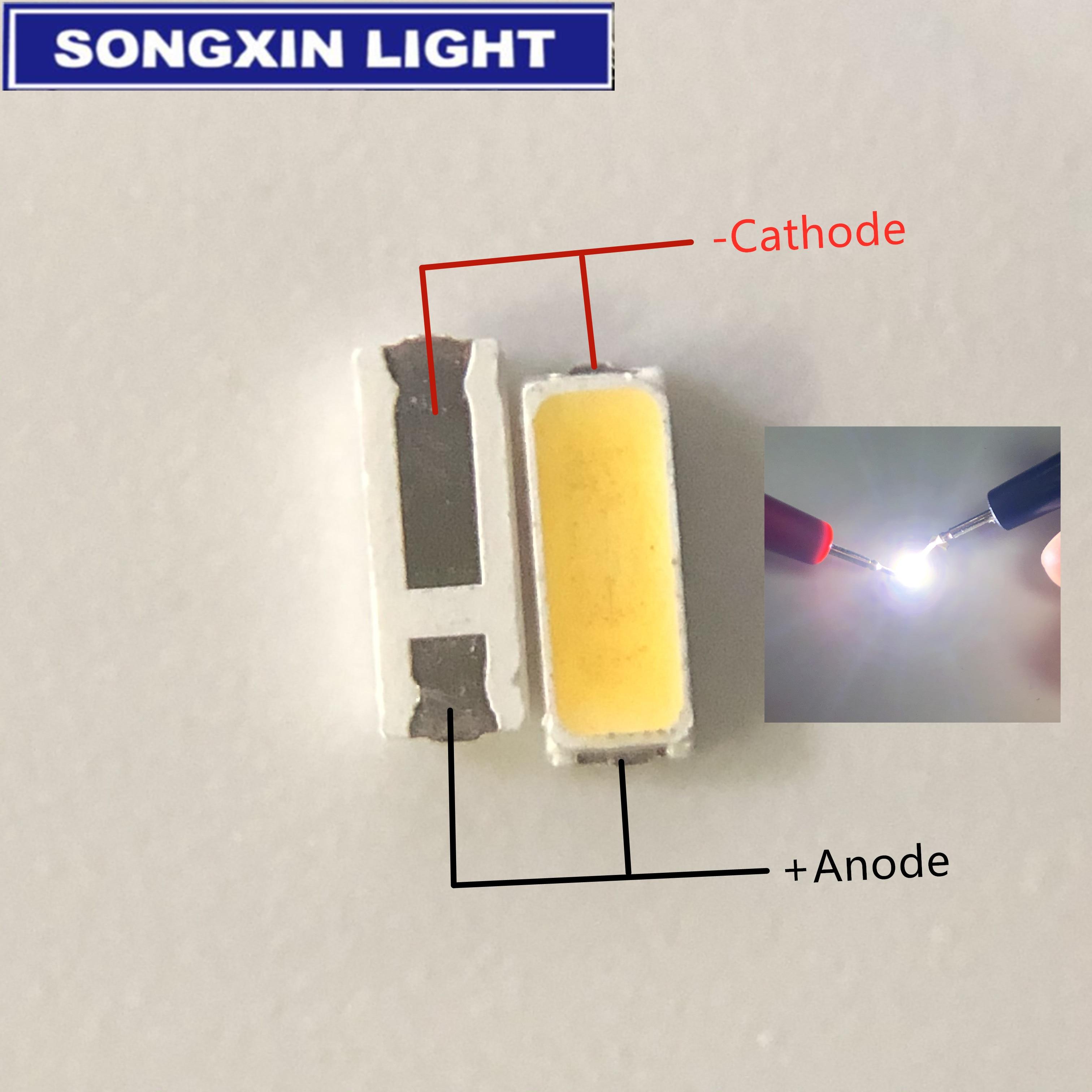 500 шт. светодиодный светильник JUFEI LED подсветка 0,3 Вт 3В 4014 холодный белый 90ма ЖК Подсветка для ТВ приложения 01.JT. CB414BF-BC