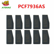Original pcf7936AA 20 pçs/lote PCF7936AS chave do carro transponder chip, PCF7936, PCF 7936 (id46 chip de transponder)
