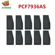 기존 pcf7936aa 20 개/몫 pcf7936as 자동차 키 트랜스 폰더 칩, pcf7936, pcf 7936 (id46 트랜스 폰더 칩)