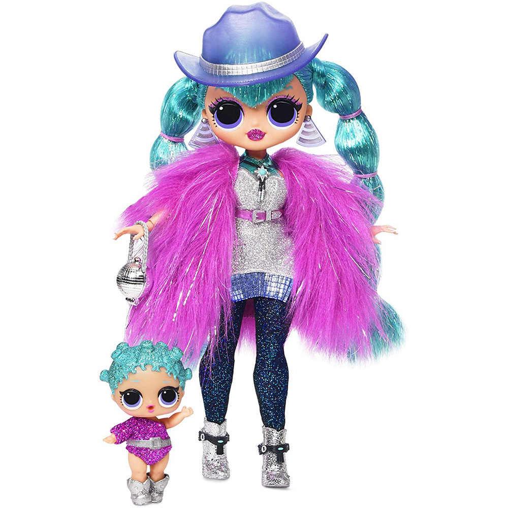 LOL Dolls Surprise Original OMG Dolls Toy Winter Disco Series recoger hermosa moda para el cabello modelo muñecas juguete para niños regalo