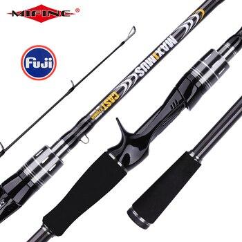 MIFINE MAXIMUS Lure Fishing Rod 1.8m 2.1m 2.4m 2.7m 3.0m30T Carbon Spinning Baitcasting FUJI Guide Travel Lure Rod 3-50g ML/M/MH
