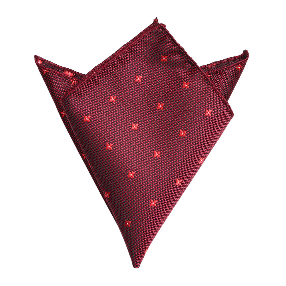 22cm*22cm Mens Pocket Squares Floral Pattern Polyester Handkerchief Fashion Hanky For Men Business Suit Accessories