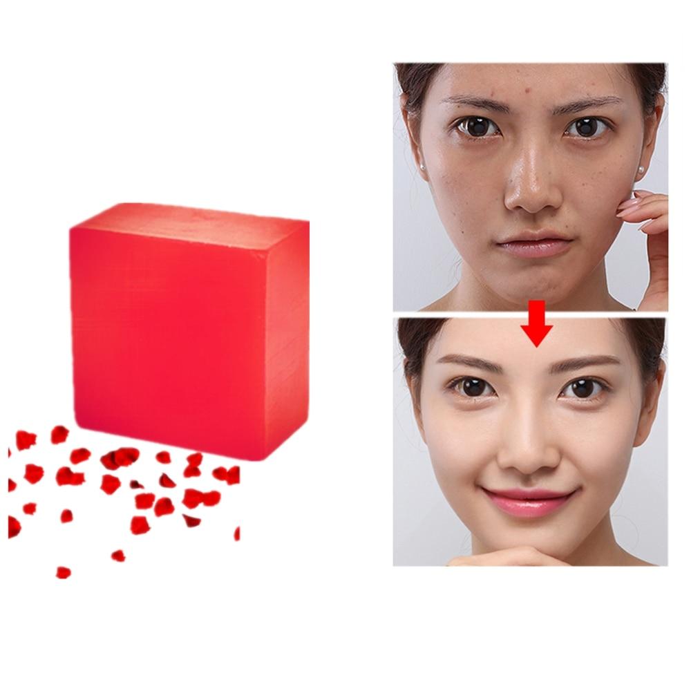 15 Hours Lasting Moisturizing Beauty Soap Bathing Skin Care Spa Rose Essence Soap Anti-Aging Nourish Whitening Handmade Soaps