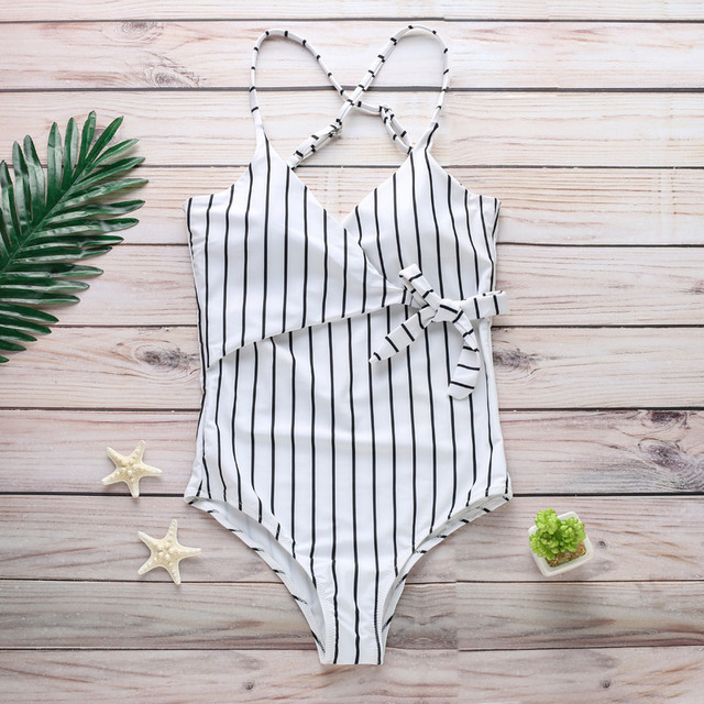 Backless One Piece Fashion Swimsuit 4