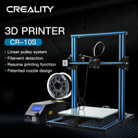 Creality3D CR-10S 3D 프린터 3D 인쇄 사무실 전자 제품-파란색 국가 표준 플러그