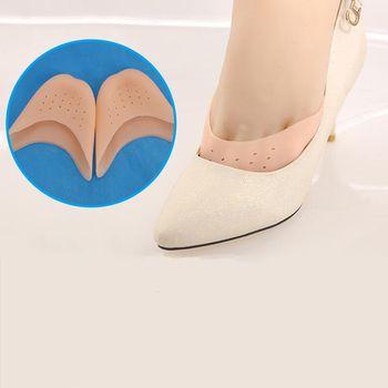 Almohadillas de Gel de silicona para danza, para Ballet, baile, Protector de punta de pie con Agujero de respiración insertos de absorción de choque de suela transpirable