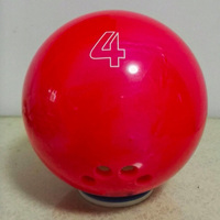 Bowling supplies, children's special light pound bowling, 4 pounds, 5 pounds, 5 finger holes, bowling