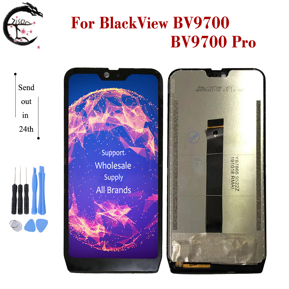 """5.84"""" FHD IPS LCD For Blackview BV9700 / BV9700 Pro LCD Display Screen Touch Digitizer Assembly BV 9700 9700pro Display New"""