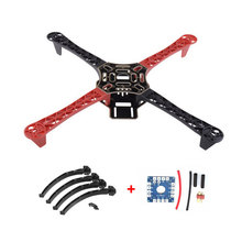 цена на F450 Drone with Camera FlameWheel KIT 450 Frame for RC MK MWC 4 Axis RC Multicopter Quadcopter Heli Multi-Rotor with Land Gear