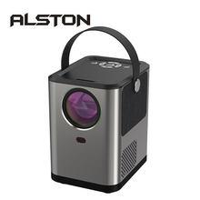 Alston bbq4 completo hd 1080p projetor android bluetooth cinema de cinema em casa hdmi-compatível com usb proyector beamer