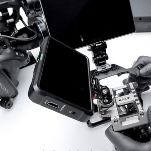 Image 5 - Testa di smorzamento regolabile M3 chiave regolabile DSLR Monitor per fotocamera Ballhead HD MI supporto per filo Clip per gabbia adattatore per cavo Rig