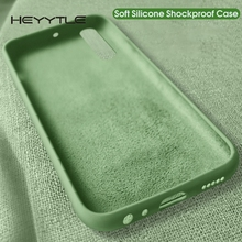 Heyytle Silicone Soft Case For Huawei P30 Pro P20 Mate 20 Liquid Candy Colors On Honor 8 9X 8x 10 Cover Coque